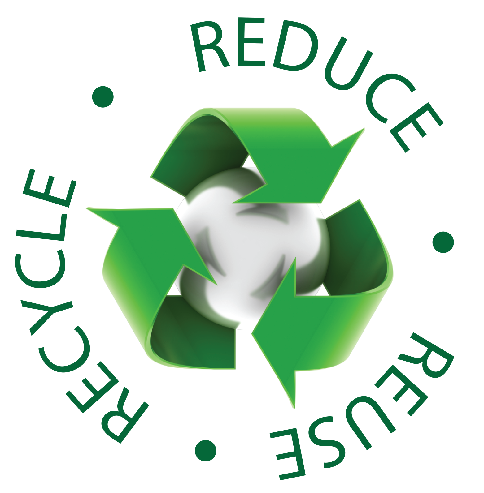 Reduce Reuse Recycle Logo Watts Batteries